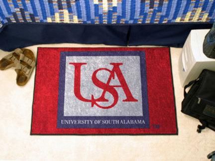 """South Alabama Jaguars 19"""" x 30"""" Starter Mat"""
