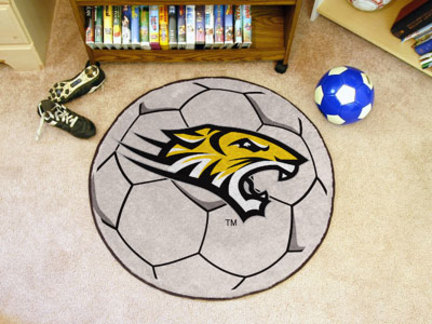 """27"""" Round Towson Tigers Soccer Mat"""