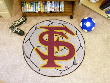 "Florida State Seminoles 27"" Round Soccer Mat"