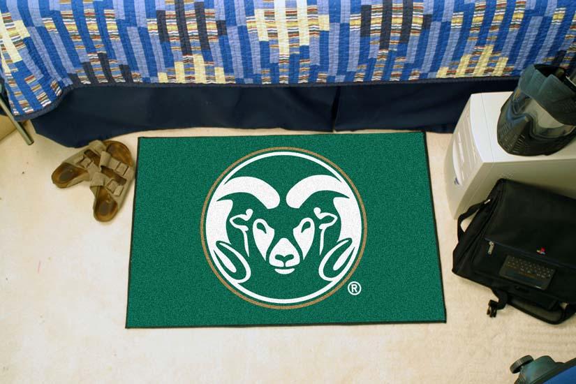 "Colorado State Rams 19"" x 30"" Starter Mat"
