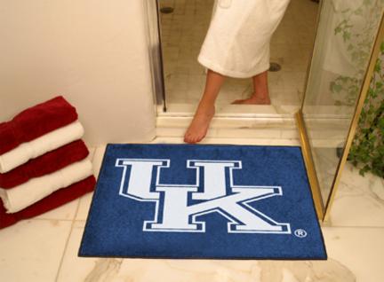 "34"" x 45"" Kentucky Wildcats All Star Floor Mat (with ""UK"")"