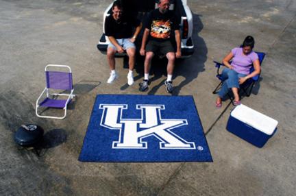 "5' x 6' Kentucky Wildcats Tailgater Mat (with ""UK"")"