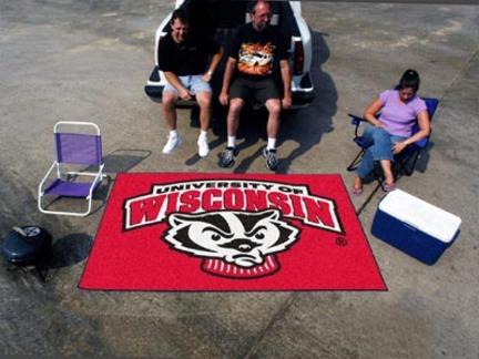 Wisconsin Badgers 5' x 8' Ulti Mat