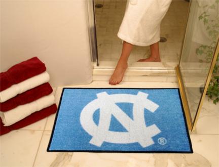 34in x 45in North Carolina Tar Heels All Star Floor Mat (NC)
