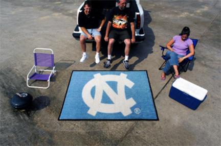 5' x 6' North Carolina Tar Heels Tailgater Mat (with 'NC')