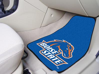 Boise State Broncos 27″ x 18″ Auto Floor Mat (Set of 2 Car Mats)