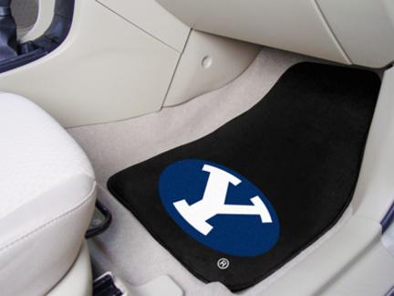 Brigham Young BYU Cougars 27 x 18 Auto Floor Mat Set of 2 Car Mats