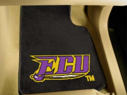 "East Carolina Pirates 27"" x 18"" Auto Floor Mat (Set of 2 Car Mats)"