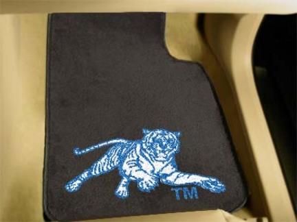 "Jackson State Tigers 27"" x 18"" Auto Floor Mat (Set of 2 Car Mats)"