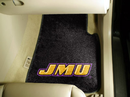 James Madison Dukes 27 x 18 Auto Floor Mat Set of 2 Car Mats