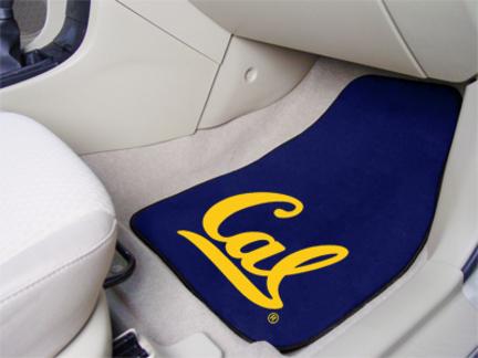 """California (UC Berkeley) Golden Bears 27"""" x 18"""" Auto Floor Mat (Set of 2 Car Mats)"""