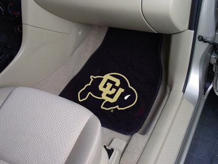 "Colorado Buffaloes 27"" x 18"" Auto Floor Mat (Set of 2 Car Mats)"