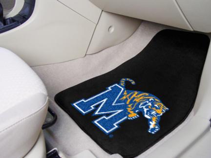 """Memphis Tigers 27"""" x 18"""" Auto Floor Mat (Set of 2 Car Mats)"""