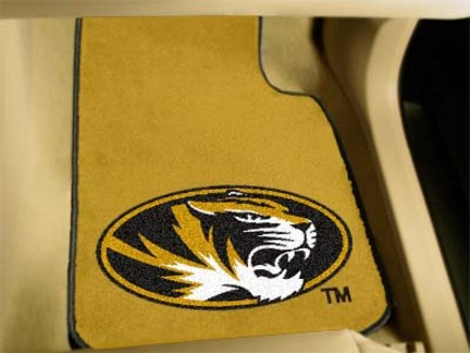 "Missouri Tigers 27"" x 18"" Auto Floor Mat (Set of 2 Car Mats)"