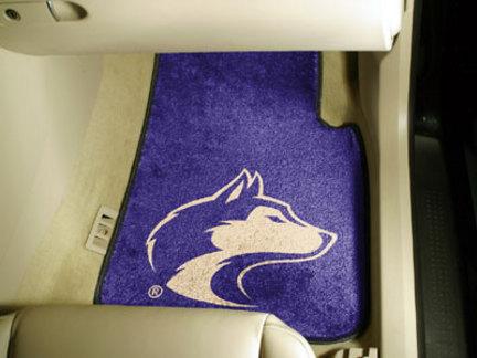 "Washington Huskies 27"" x 18"" Auto Floor Mat (Set of 2 Car Mats)"