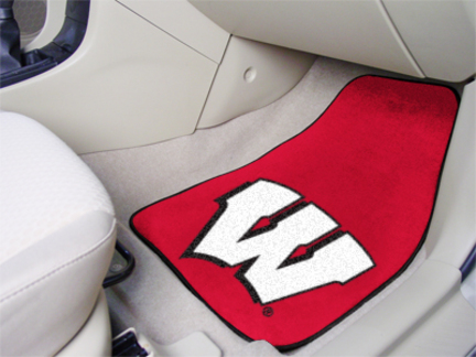 Click here for Wisconsin Badgers W 27 x 18 Auto Floor Mat (Set of... prices