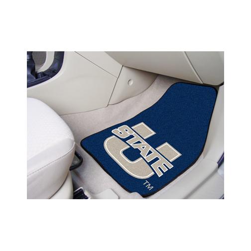 Utah State Aggies 27 x 18 Auto Floor Mat Set of 2 Car Mats