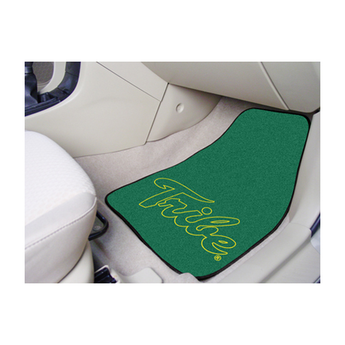 "William & Mary Tribe 27"" x 18"" Auto Floor Mat (Set of 2 Car Mats)"