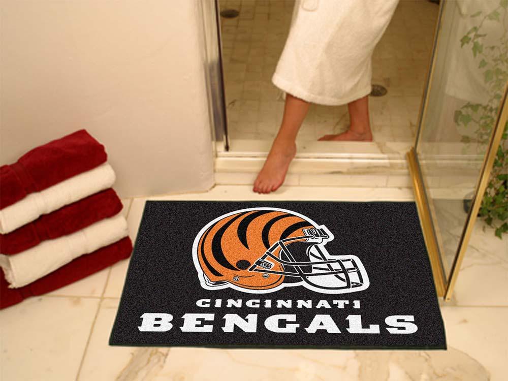 "34"" x 45"" Cincinnati Bengals All Star Floor Mat"