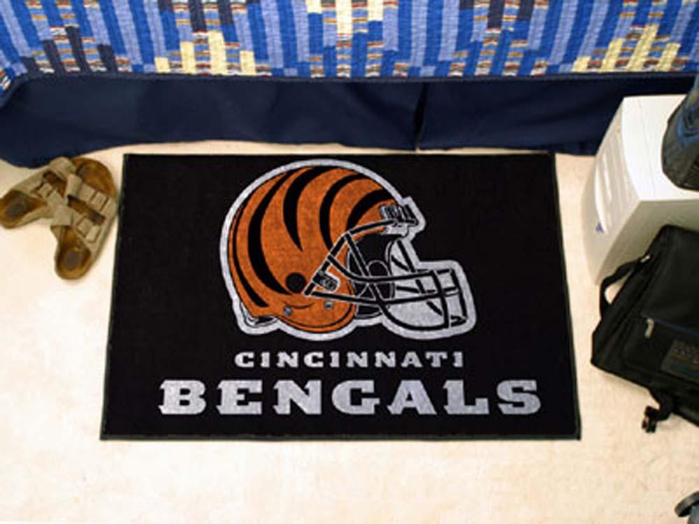 """Cincinnati Bengals 19"""" x 30"""" Starter Mat"""