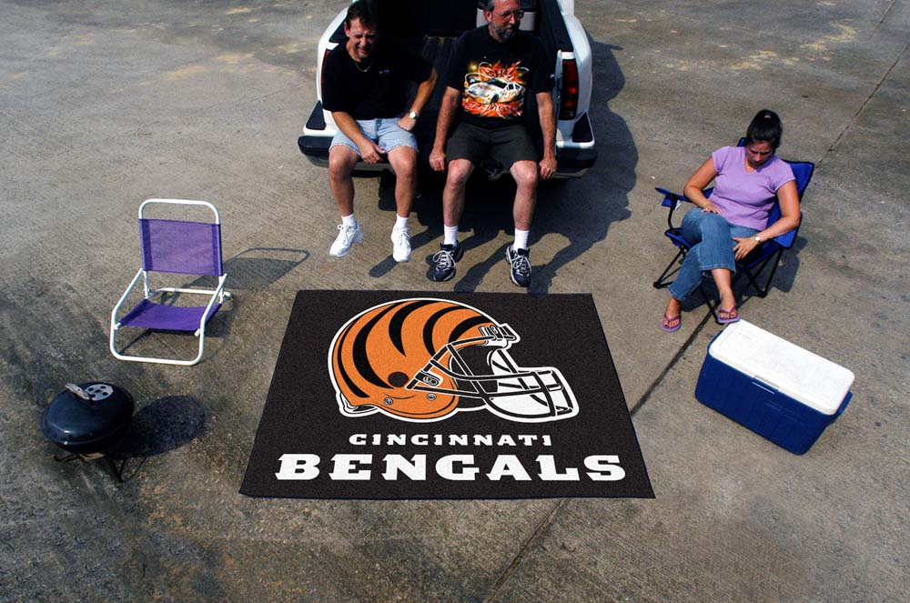 5' x 6' Cincinnati Bengals Tailgater Mat