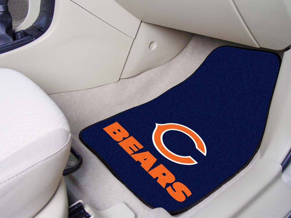 Click here for Chicago Bears 27 x 18 Auto Floor Mat (Set of 2 Car... prices