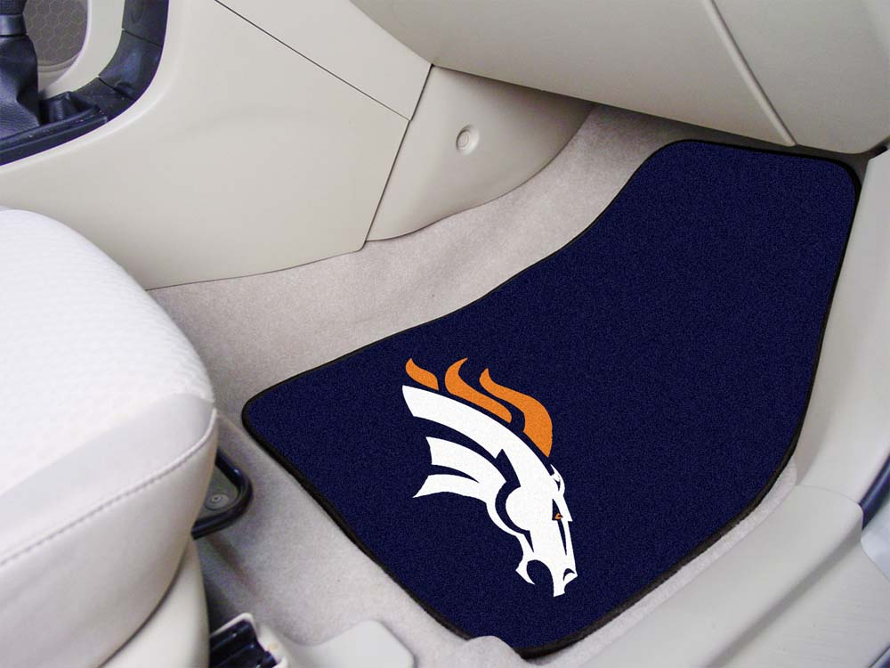 "Denver Broncos 27"" x 18"" Auto Floor Mat (Set of 2 Car Mats)"