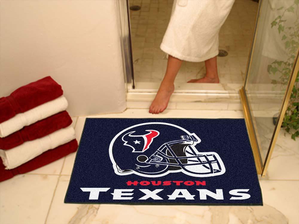 "34"" x 45"" Houston Texans All Star Floor Mat"
