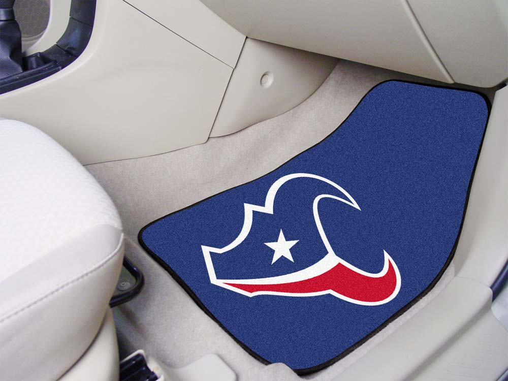 "Houston Texans 27"" x 18"" Auto Floor Mat (Set of 2 Car Mats)"
