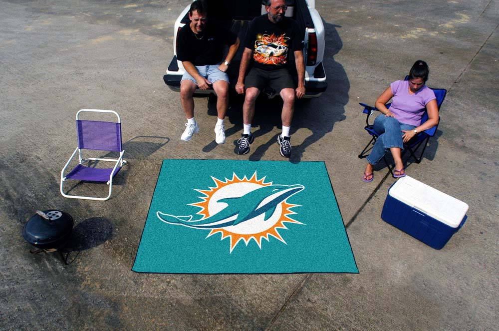 5' x 6' Miami Dolphins Tailgater Mat