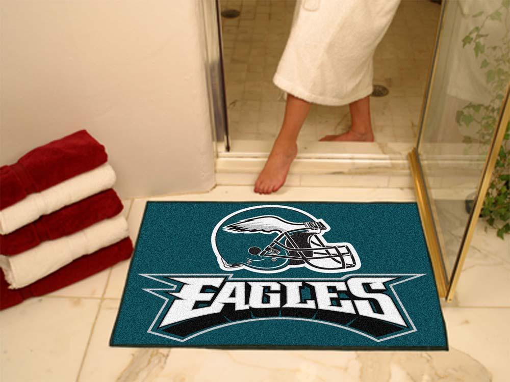 """34"""" x 45"""" Philadelphia Eagles All Star Floor Mat"""
