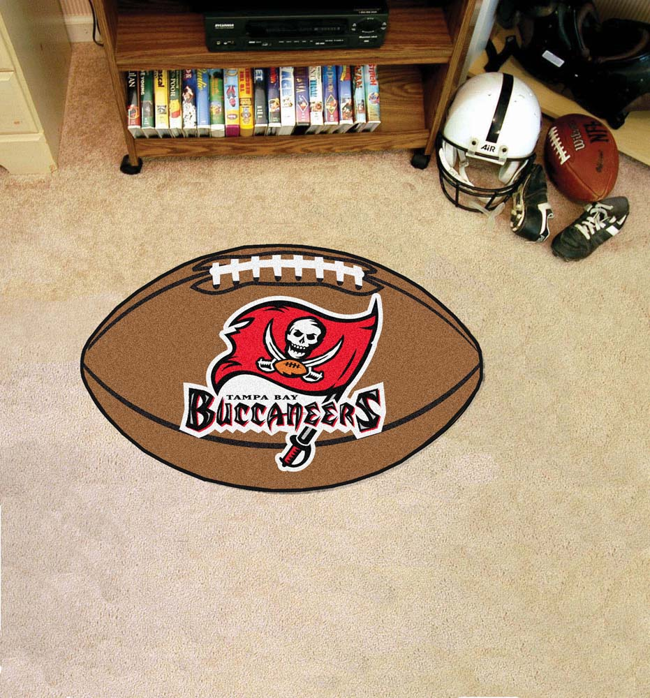 "22"" x 35"" Tampa Bay Buccaneers Football Mat"