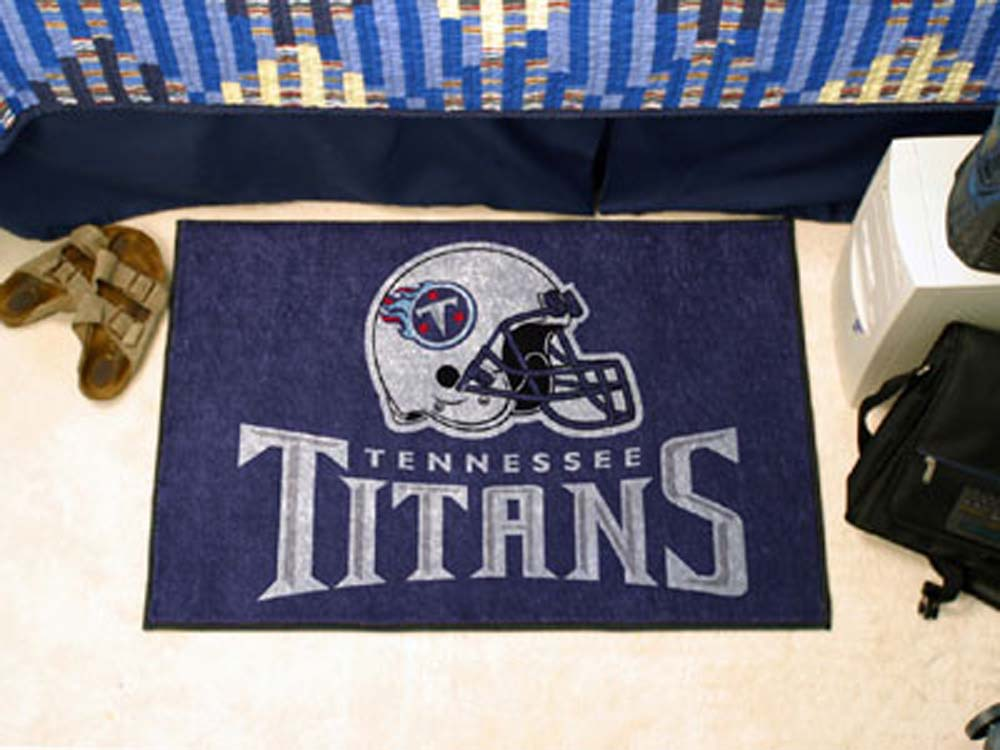 Tennessee Titans 19 in x 30 in Starter Mat
