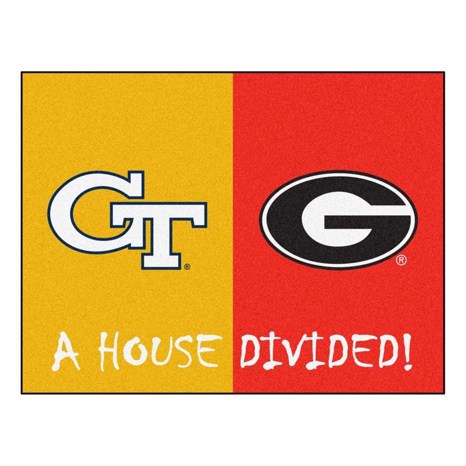 Georgia Tech Yellow Jackets and Georgia Bulldogs 34
