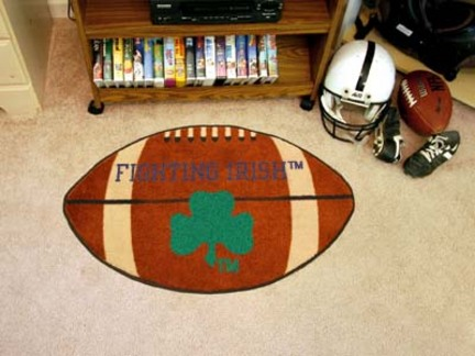 22in x 35in Notre Dame Fighting Irish Football Mat