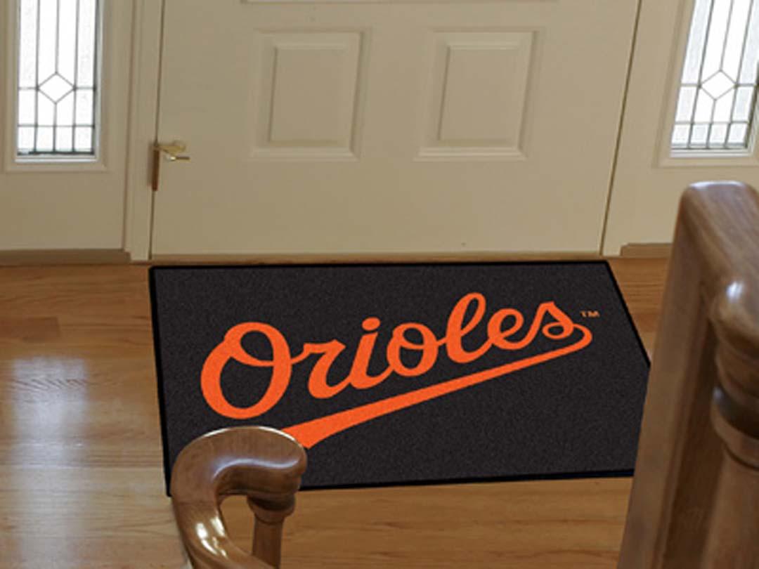 34in x 45in Baltimore Orioles All Star Floor Mat