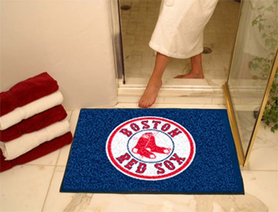 "Image of 34"" x 45"" Boston Red Sox All Star Floor Mat"