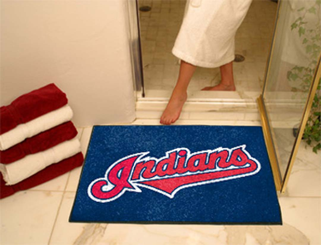 34in x 45in Cleveland Indians All Star Floor Mat
