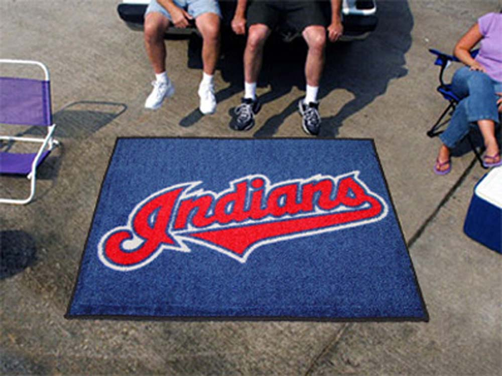 5' x 6' Cleveland Indians Tailgater Mat