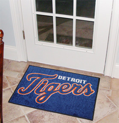 Detroit Tigers 19in x 30in Starter Mat