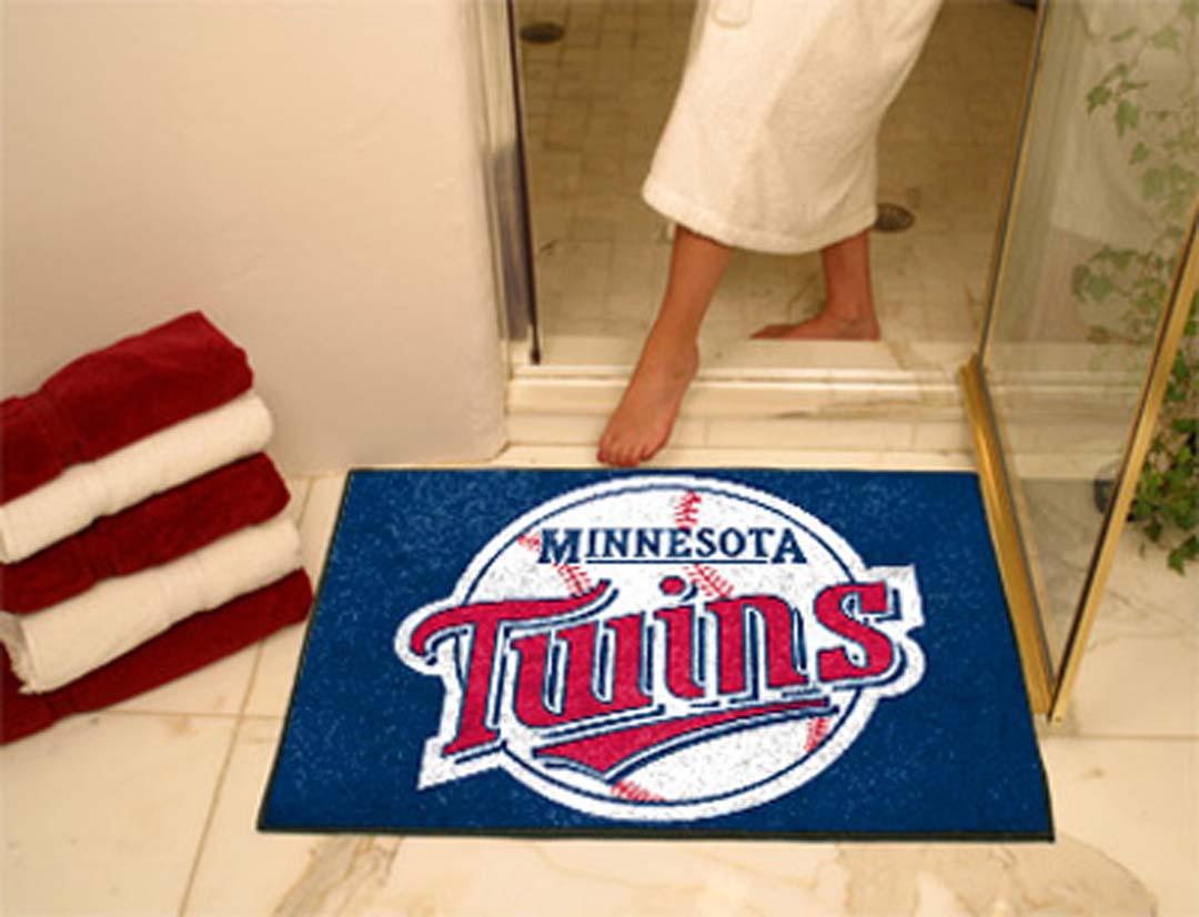 34in x 45in Minnesota Twins All Star Floor Mat