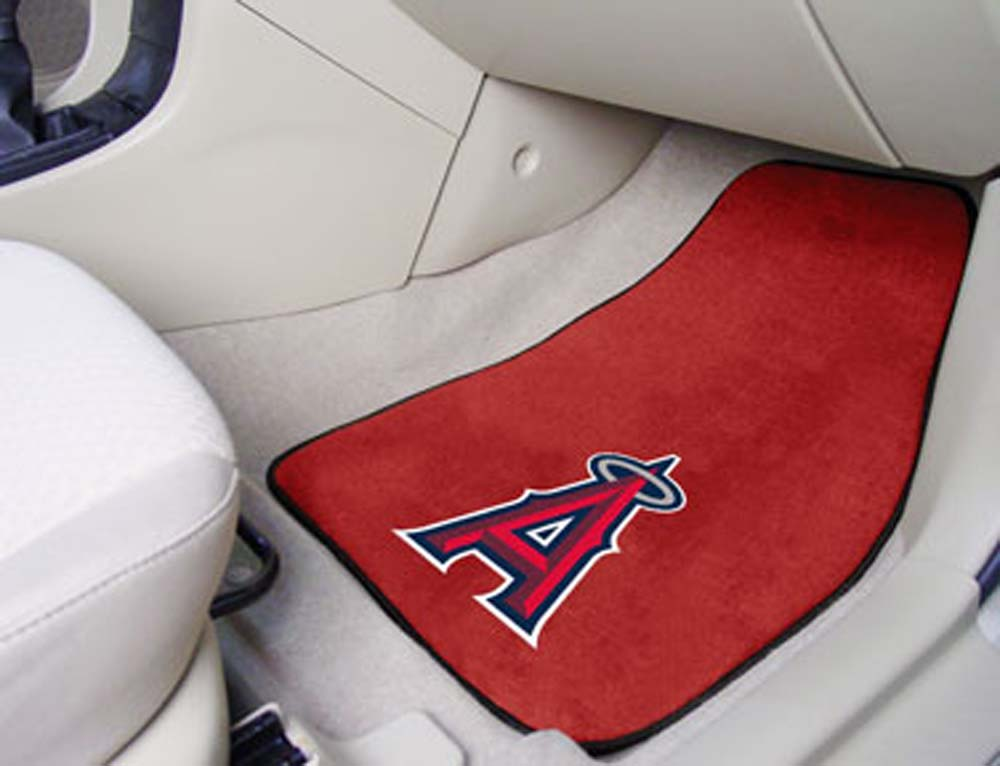 Los Angeles Angels of Anaheim 27in x 18in Auto Floor Mat (Set of 2 Car Mats)