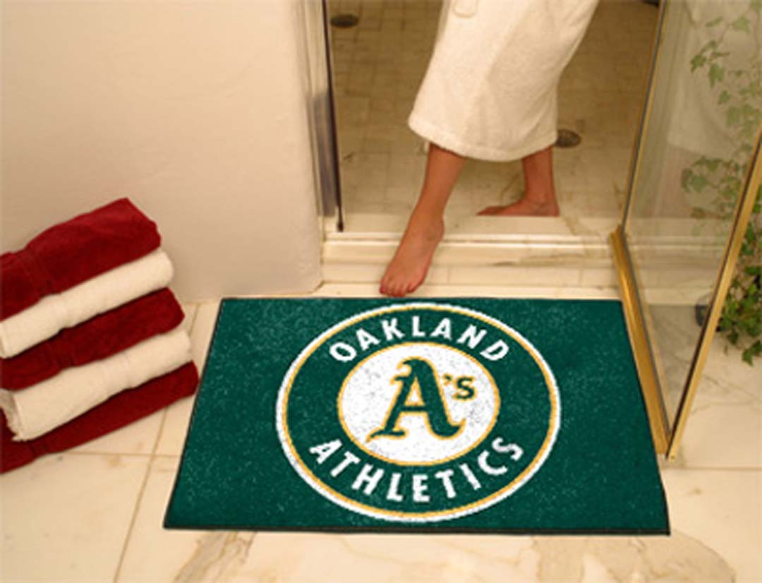 34in x 45in Oakland Athletics All Star Floor Mat