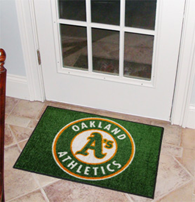 Oakland Athletics 19in x 30in Starter Mat
