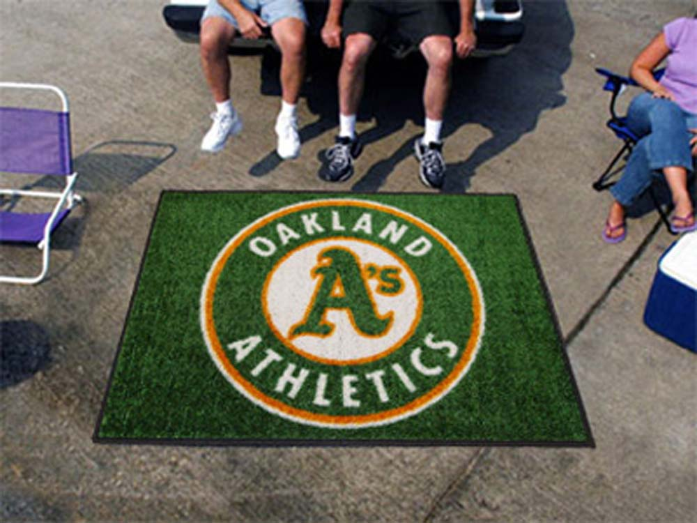 5' x 6' Oakland Athletics Tailgater Mat