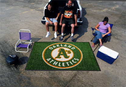5' x 8' Oakland Athletics Ulti Mat