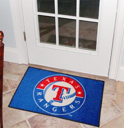 Texas Rangers 19in x 30in Starter Mat