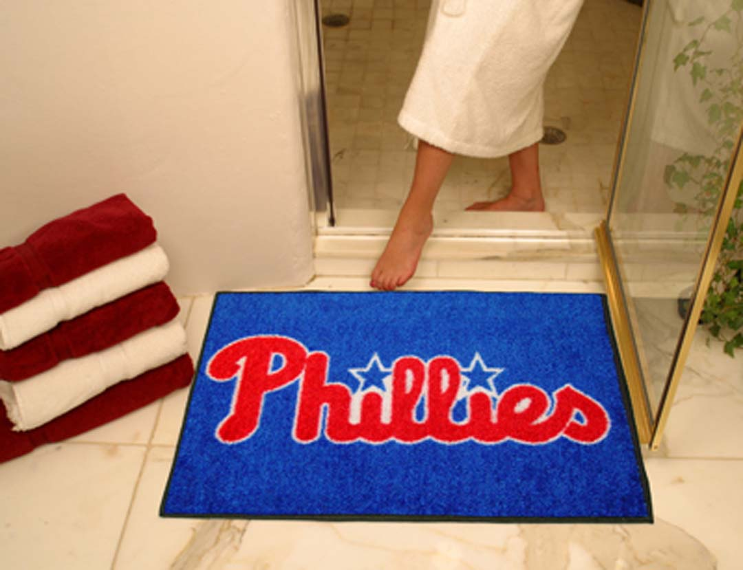 34in x 45in Philadelphia Phillies All Star Floor Mat