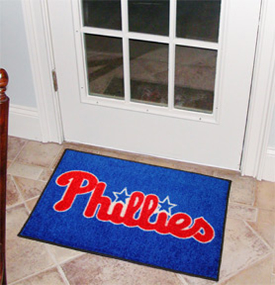 Philadelphia Phillies 19in x 30in Starter Mat