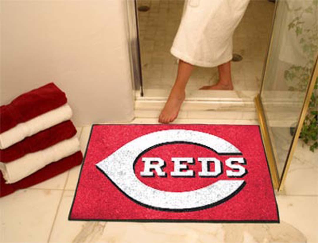 Cincinnati Reds 34in x 45in All Star Floor Mat